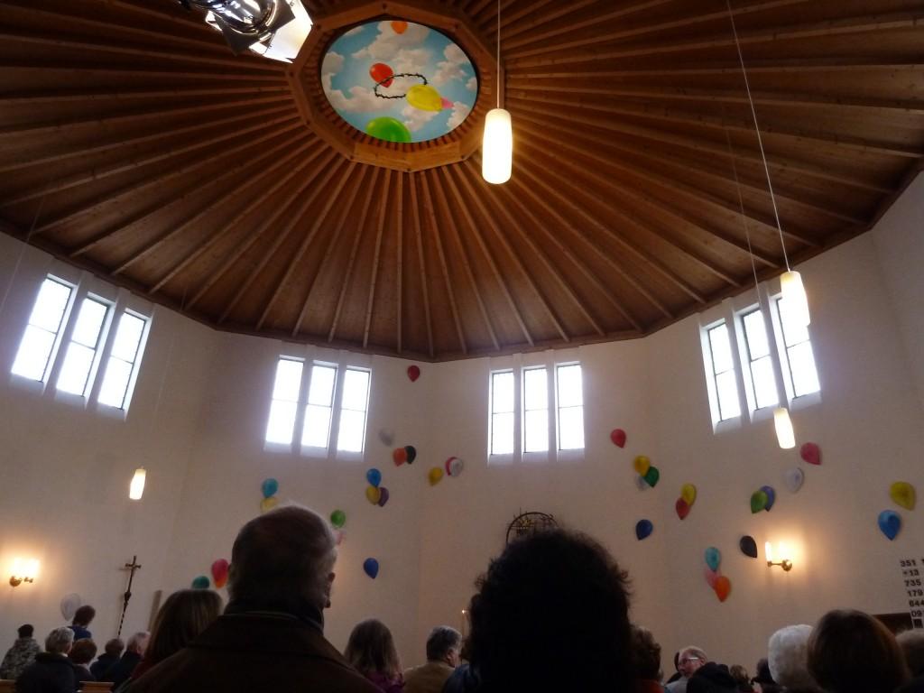 Gottesdienst zur Vorstellung des Kunstwerks